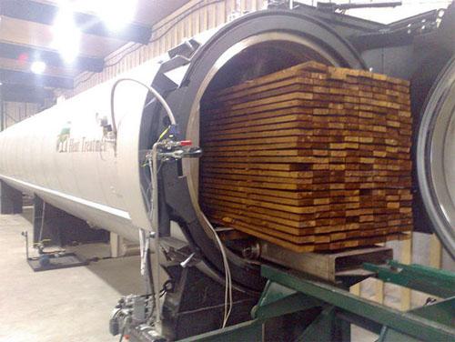 Производство термодревесины