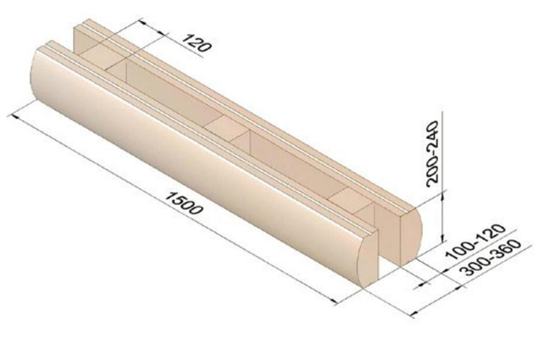 Найдено оригинальное решение, которое при всех преимуществах древесины как строительного материала позволяет снизить стоимость строительства деревянного сруба.