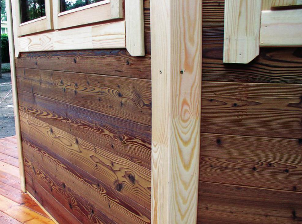 Защита древесины от воздействия высоких температур